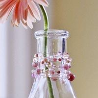 Beaded Vase Decoration