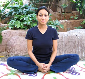Bhadrasana ~ the throne pose