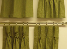 Curtain Heading Styles