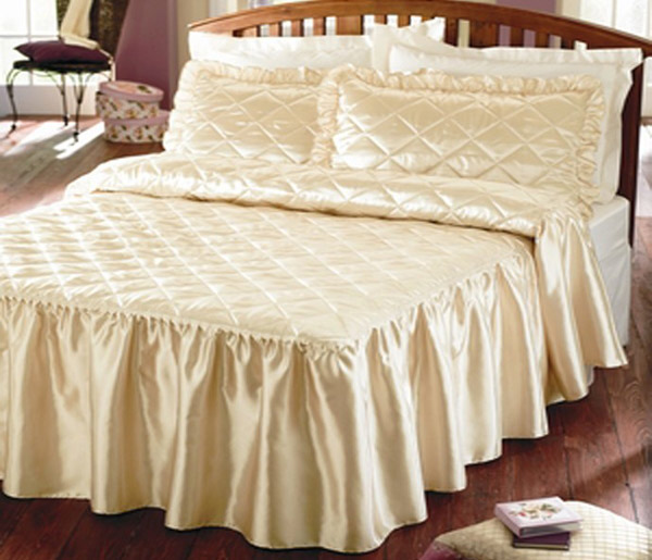 fitted bedspread