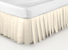 pleated valance sheet