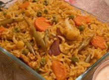 Roast Chicken Pulao