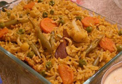 Roast Chicken Pulao