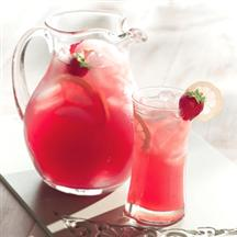 Strawberry Ginger Iced Tea
