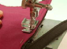Inserting a Zipper