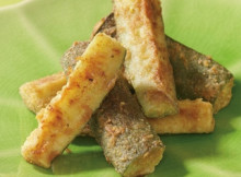 Oven Fried Zucchini Sticks