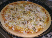 How to Make Chicken Tikka Pizza