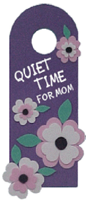 Door Hanger for Mom