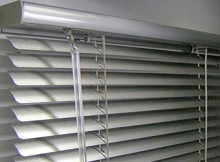 Clean Greasy Aluminium Blinds