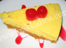Orange Cheesecake Recipe by Shireen Anwer