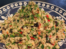 Vegetables Rice Salad
