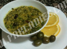 Masoor Dal with Palak Recipe