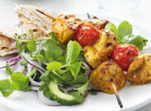 Delicious Chicken Tikka Skewers