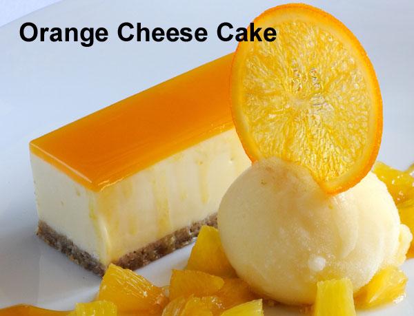 Orange Cheese Cake