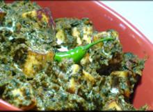 Palak and Baingan Bhaji Resipe