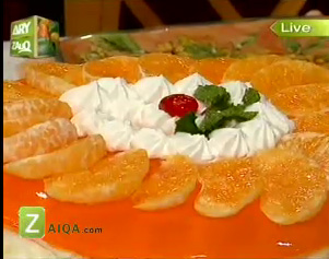 Tahira Mateen Weight Loss Tip http://www.pakladies.com/orange-cheese-cake-by-chef-tahira-mateen/