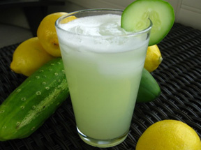 cucumber lemonade chiller