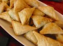 Baked Keema Samosa Recipe