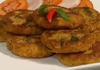 Chicken Daal Kabab