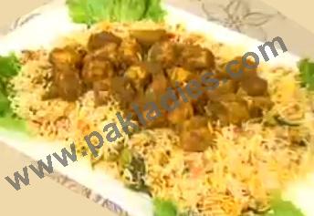 BBQ Chicken Biryani Recipe