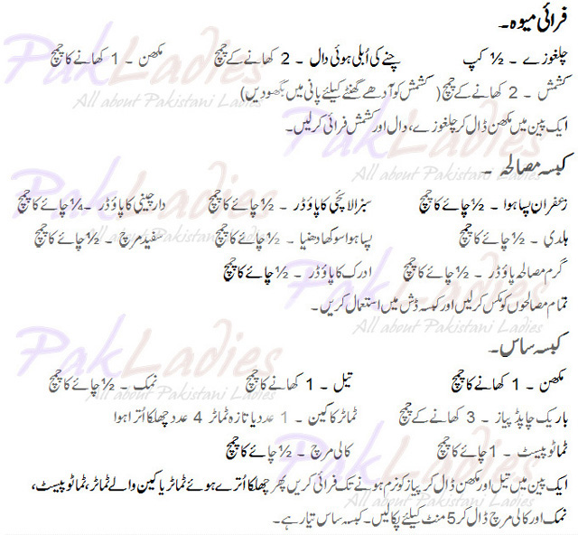 Urdu Spice Names Spices in Urdu And English