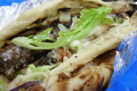 How to Make Lamb Kebab Roll