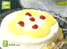 Pineapple Cake by Tahira Mateen