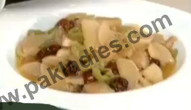 shalgam ki sabzi spicy turnips