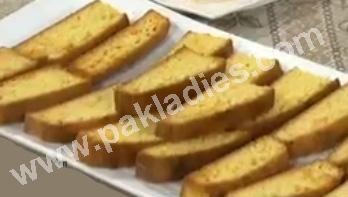 easy cake rusk recipe