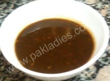 Mint and Tamarind Sauce
