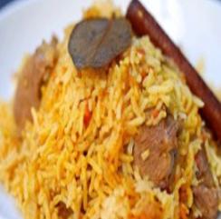 Mutton Zafrani Pulao