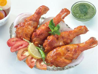 BBQ Tangri Chicken Tikka Recipe