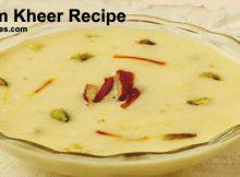 Badam Kheer Recipe