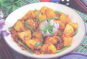 Crispy Spicy Potatoes