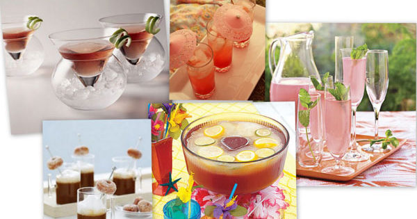 Serving Ideas for Drinks