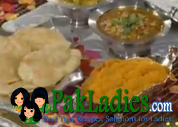 Halwa Puri Recipe in Urdu