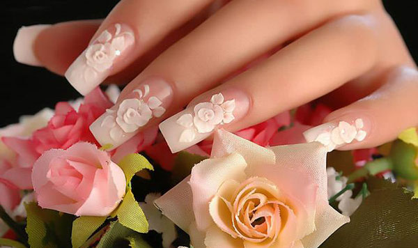 Amazing 3d Nail Art Designs Pak Ladies