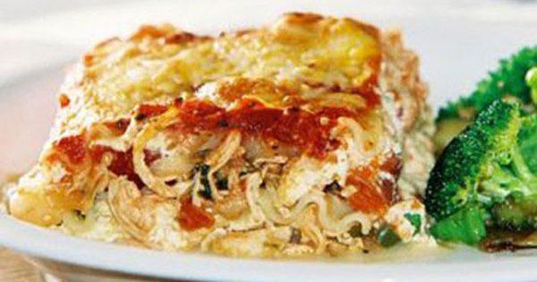 BBQ Chicken Lasagna Recipe