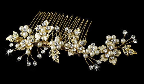 Pearl Bridal Hair Combs