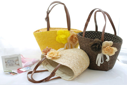 Straw Handbags for Summer