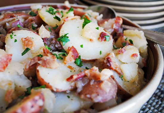 how to make hot german potato salad