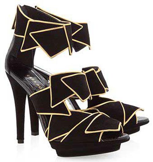 Lara Bohinc high heeled