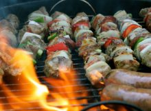 Turkish Lamb Shish Kebabs