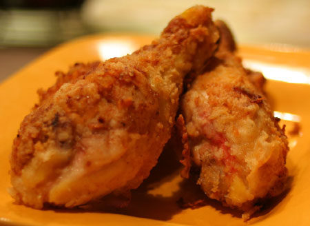 fried drumsticks