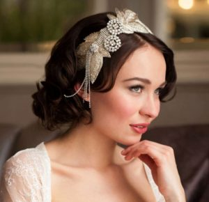 Vintage Inspired Wedding Hair Accessories