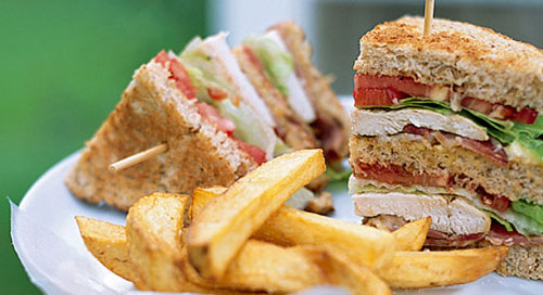 Easy Classic Club Sandwich