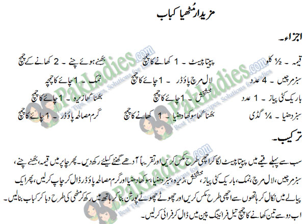 muthia kebab recipe in urdu