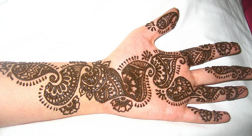 party mehndi design