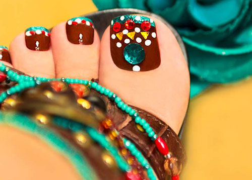 Toe Nail Art Designs 2018
