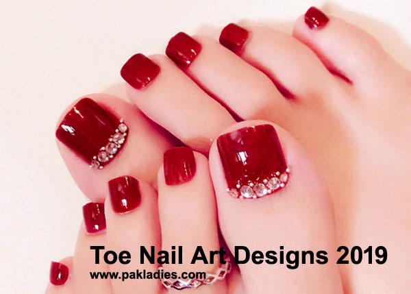 Toe Nail Art Designs 2019